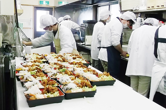 (イメージ)食品の製造・販売